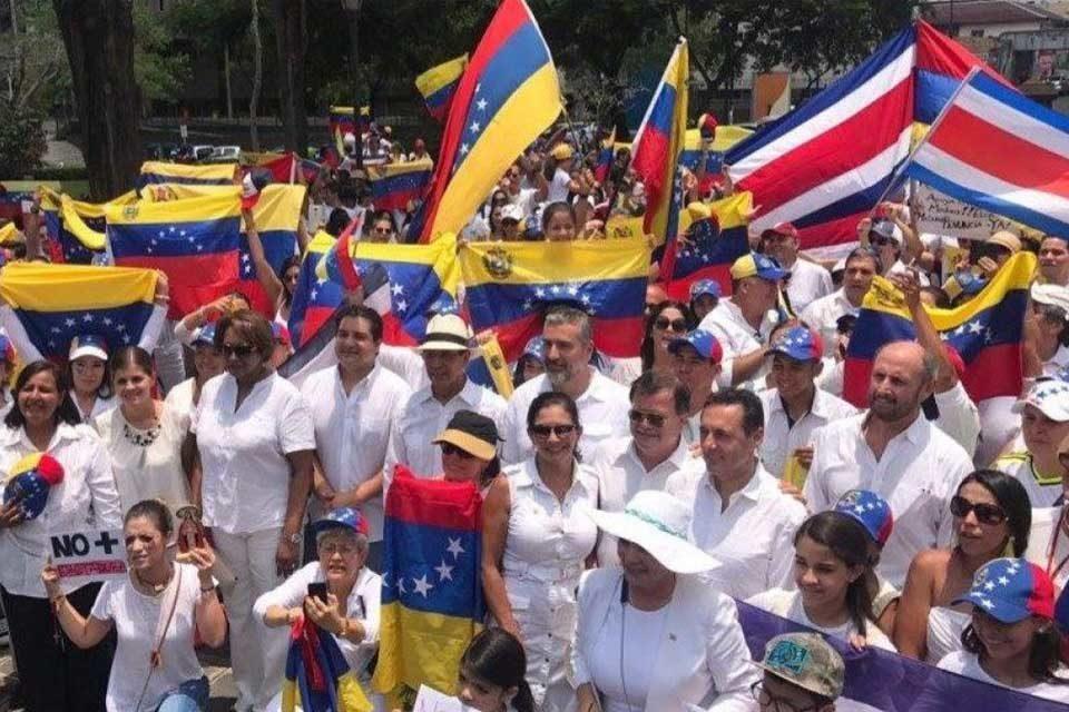 Costa Rica migrantes venezolanos
