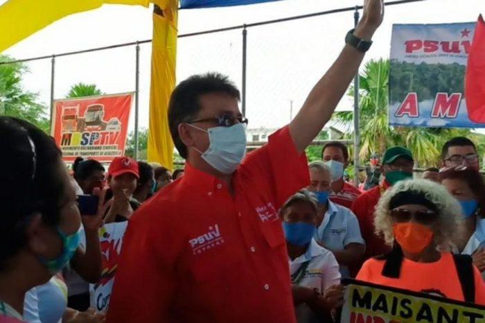 Miguel Rodríguez gobernador de Amazonas