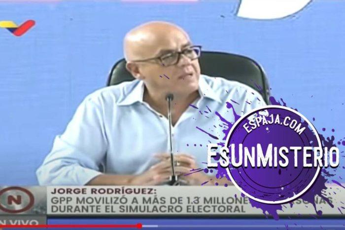 EsPaja Jorge Rodriguez simulacro