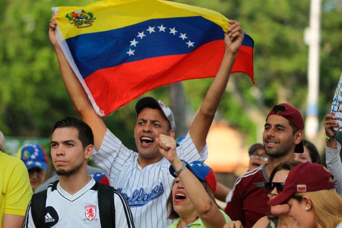 Jóvenes la esperanza de Venezuela