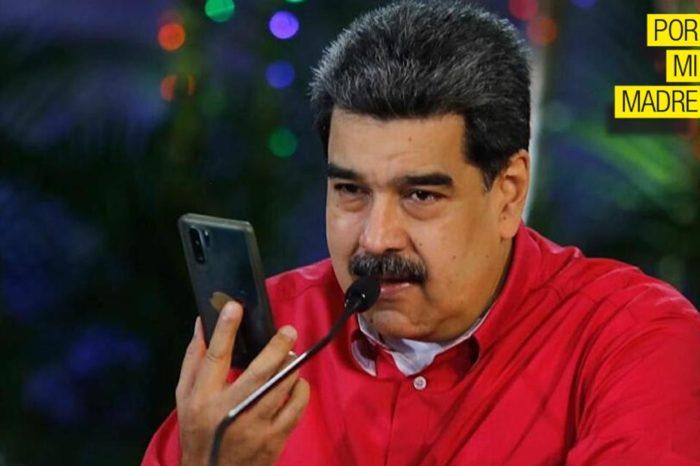 Maduro whatsapp por mi madre