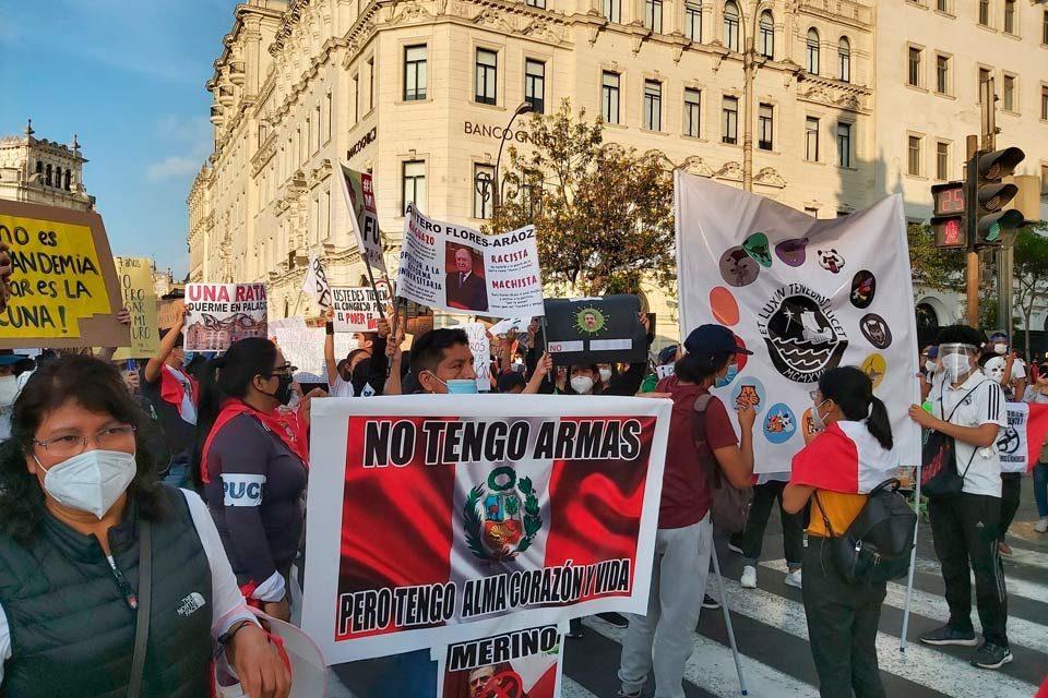 Perú: ¿un pueblo alzado?