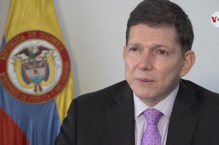 ministro colombiano justicia Wilson Ruiz Colombia venezolanos