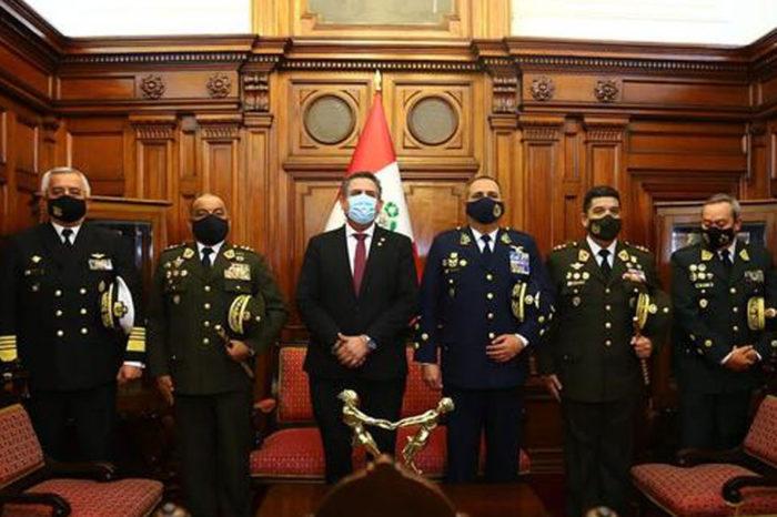 Manuel Merino presidente del Perú