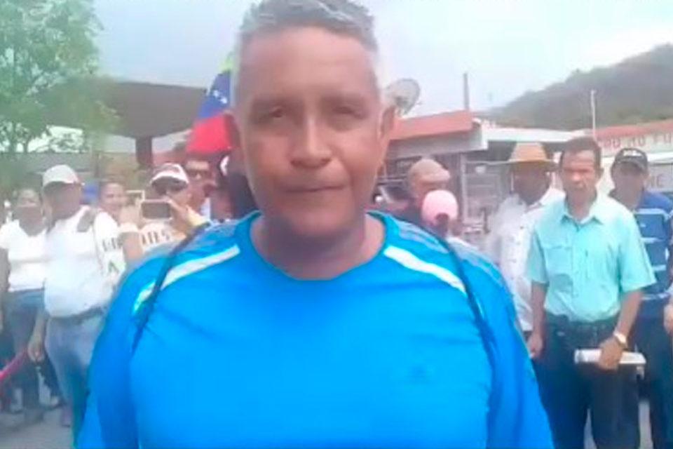 Profesor Robert Franco detenido por las FAES