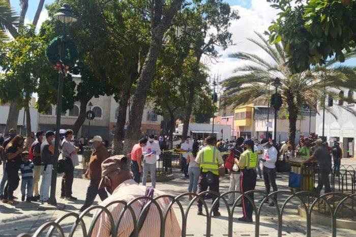colectivos impidieron instalación de centros de consulta popular