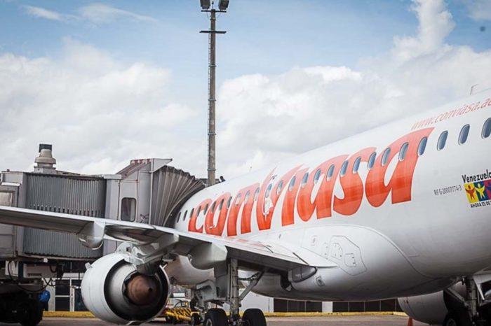 Aviones Bolívar aeropuerto