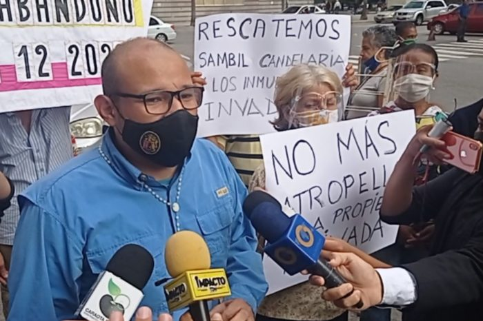 Carlos Julio Rojas Caracas invasiones