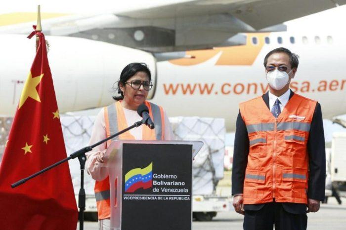Delcy Rodriguez China ayuda humanitaria