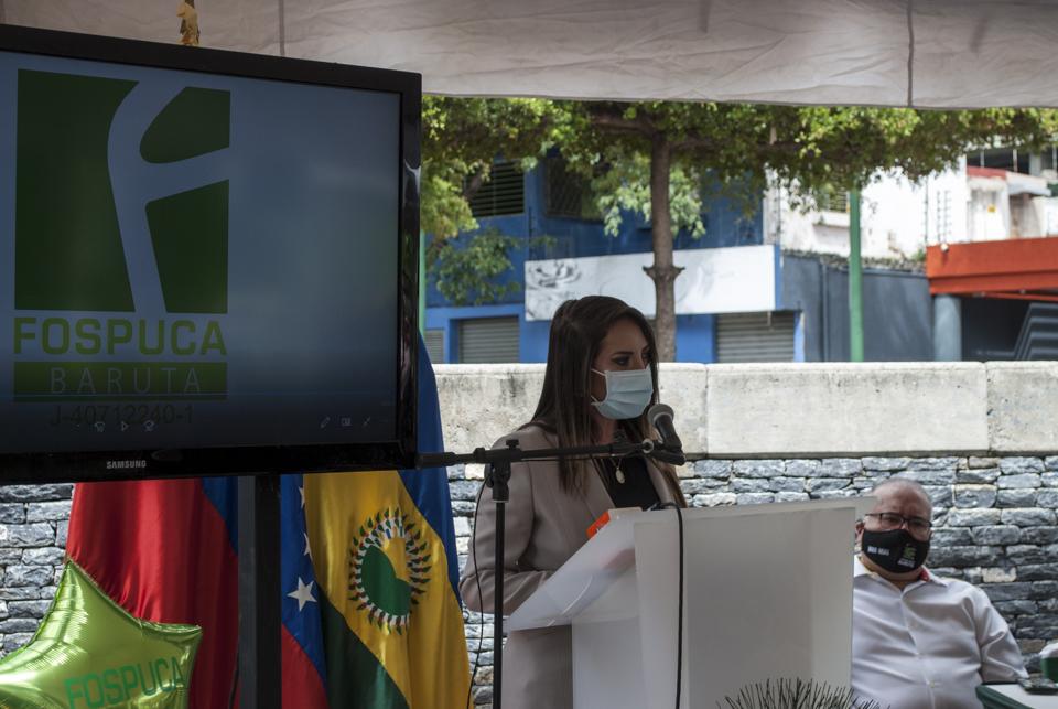 Giorgette Topalián, presidenta Concejo Municipal de Baruta