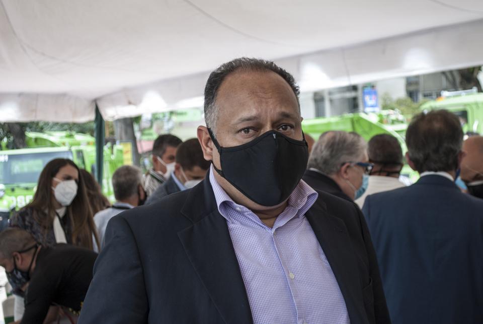 Máximo Sánchez, presidente del Consejo Municipal de Chacao