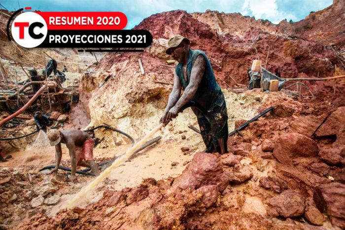 Oro, sangre, ecocidio y esclavitud reinaron durante 2020 en el Arco Minero