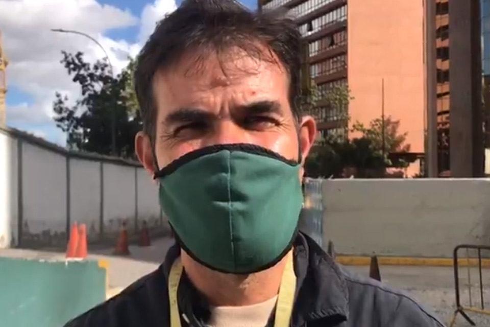 Reportero Gráfico de Punto de Corte, Juan Carlos Niera