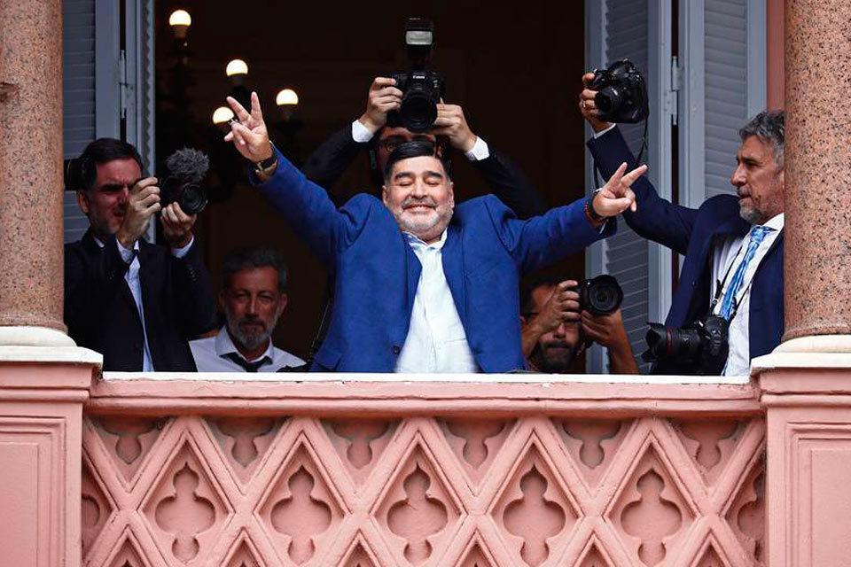 Maradona en Sinaloa - oro