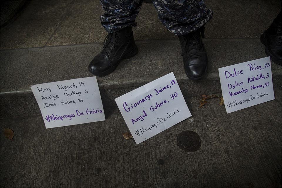 Protesta Embajada Trinidad y Tobago