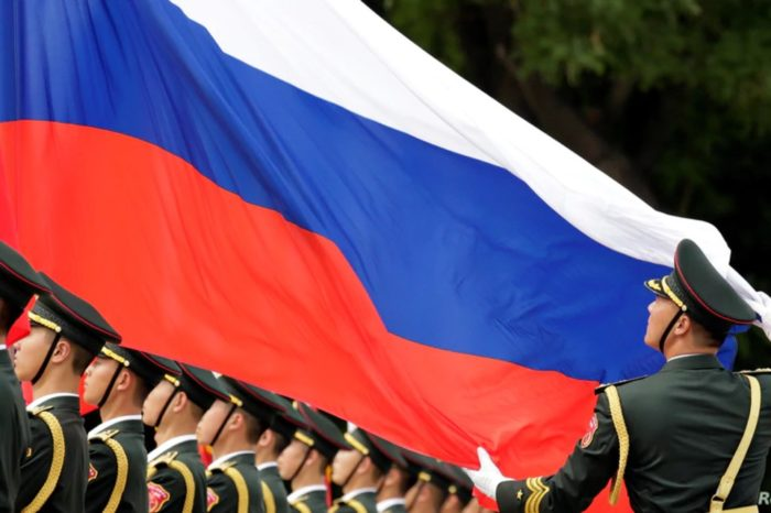 Rusia bandera ejercito