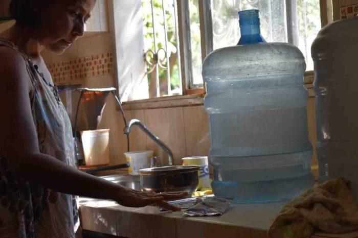 alumbre Zulia agua potable