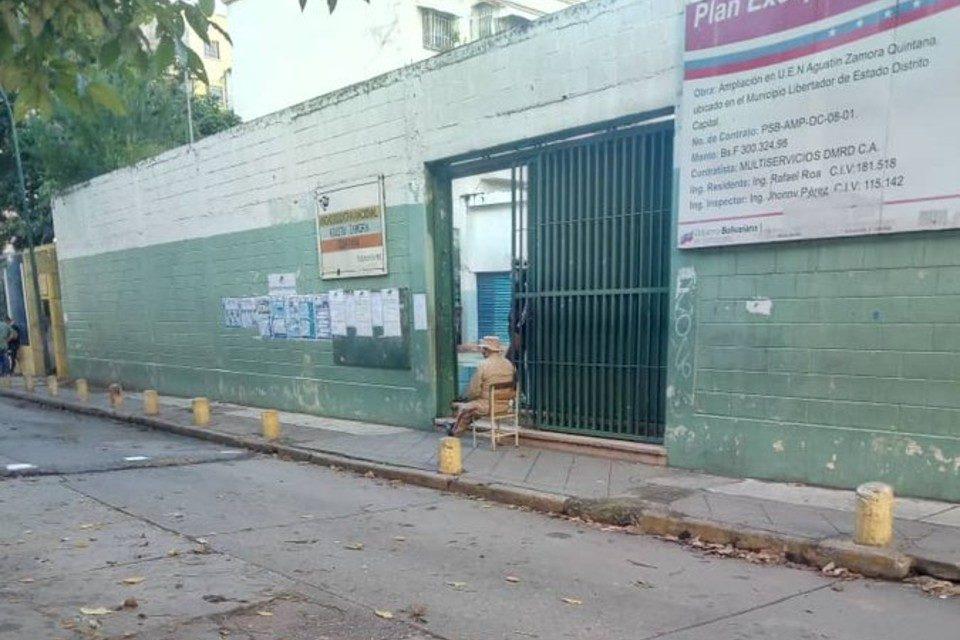 centros de votación Agustín Zamora Quintana Caracas