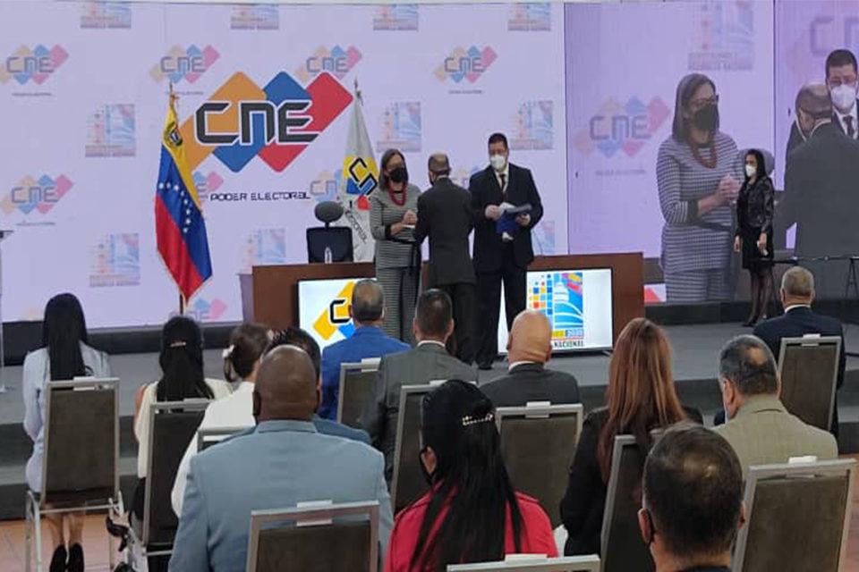 CNE - DIPUTADOS rectores del CNE