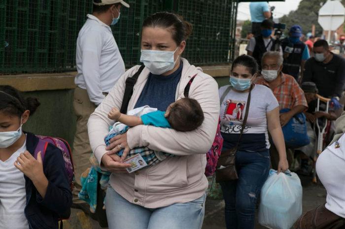 migrante venezolano