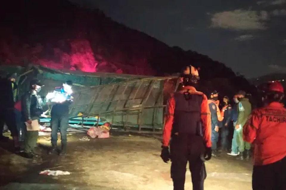 Accidente en Táchira
