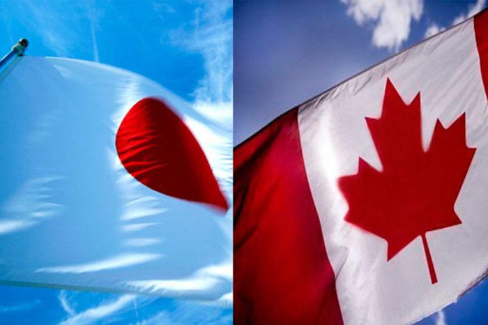 Japón y Canadá