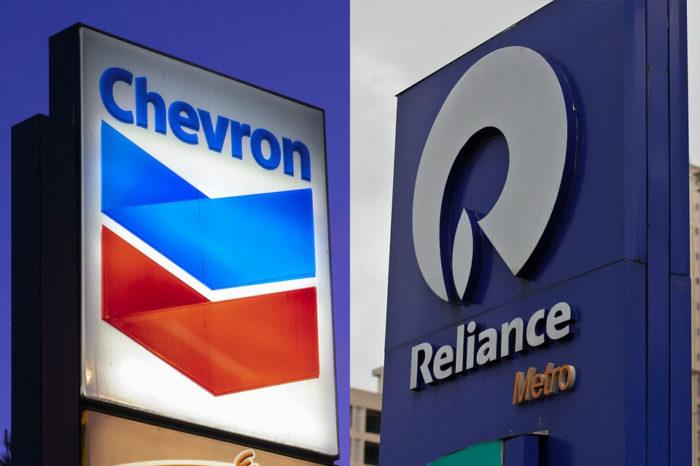 Chevron y Reliance piden relajar sanciones a Pdvsa