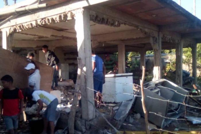 Explosión de Bombonas de gas doméstico
