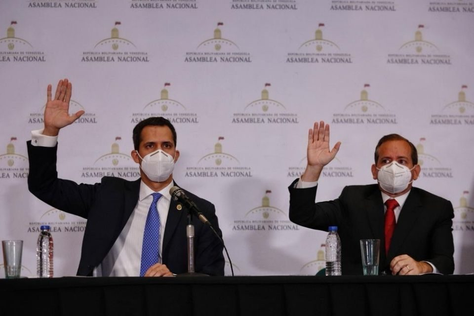 Asamblea Nacional, Juan Guaidó AN de Guaidó