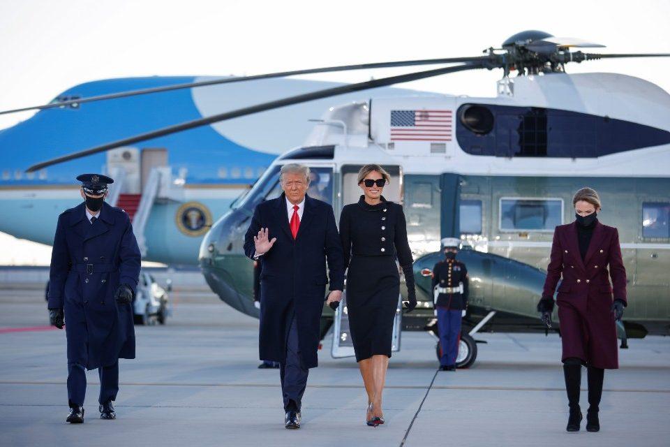 Donald Trump EEUU Casa Blanca 20.01.2021