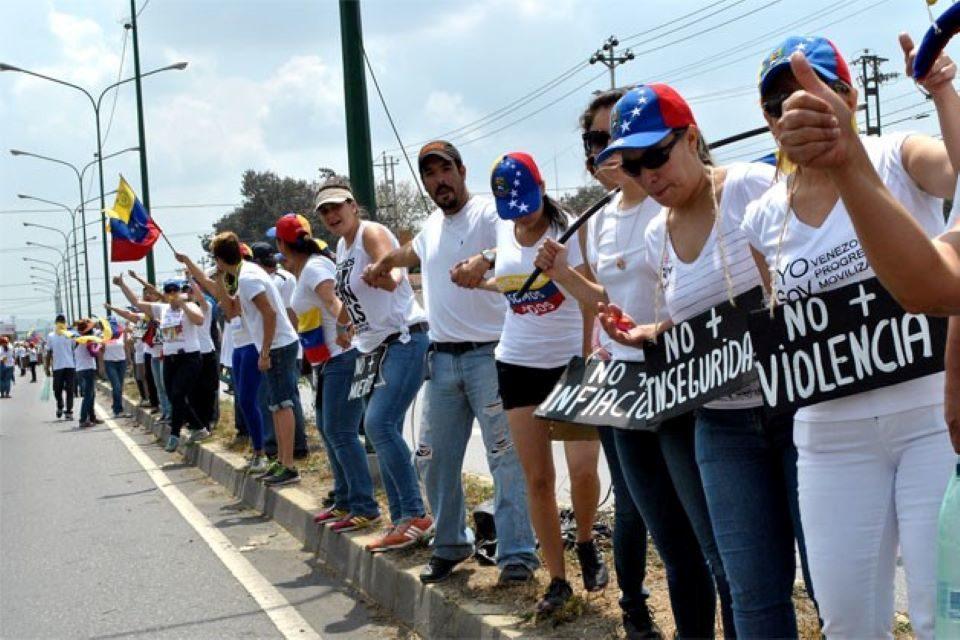 Frente a la violencia: unión y coordinación, por Alejandro Oropeza G.