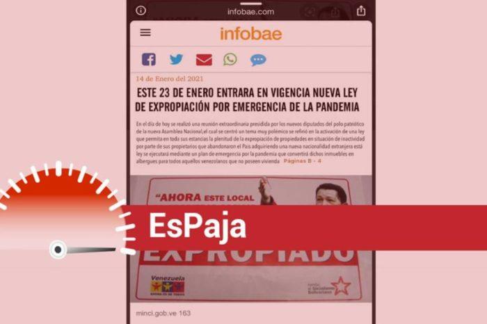 Expropiación pandemia EsPaja