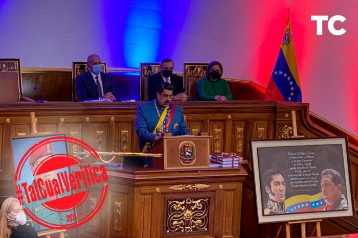 Maduro Memoria y Cuenta #TalCualVerifica