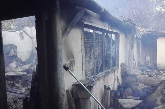 Incendio en casa de Charles Brewer