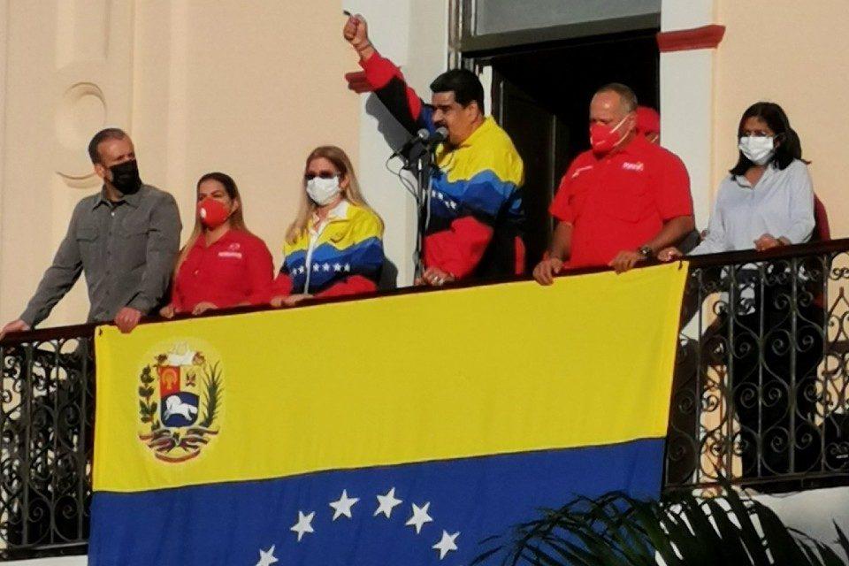 Maduro 23.01.2021 balcon del puebño