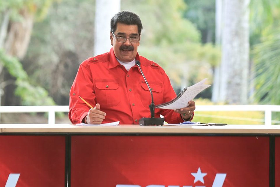 Maduro reunión PSUV