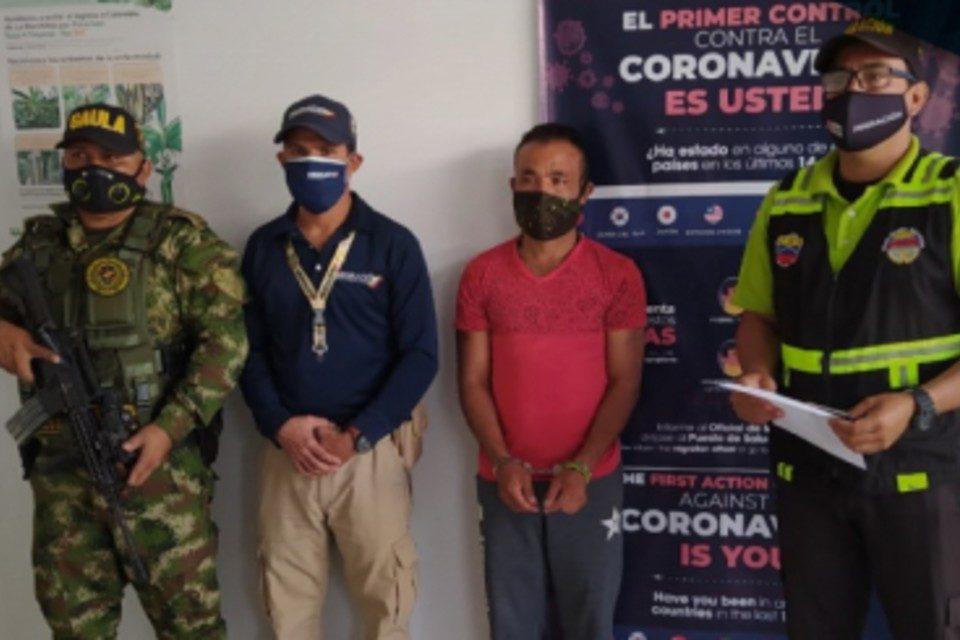 Migracion Colombia sargento FAN Ramos Utrera