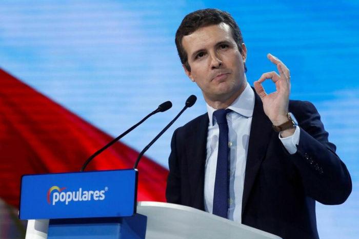 Pablo Casado, presidente del Partido Popular de España