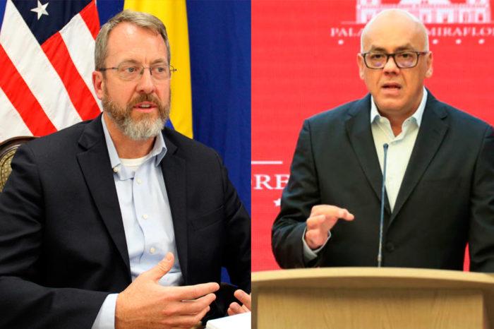 James Story y Jorge Rodríguez