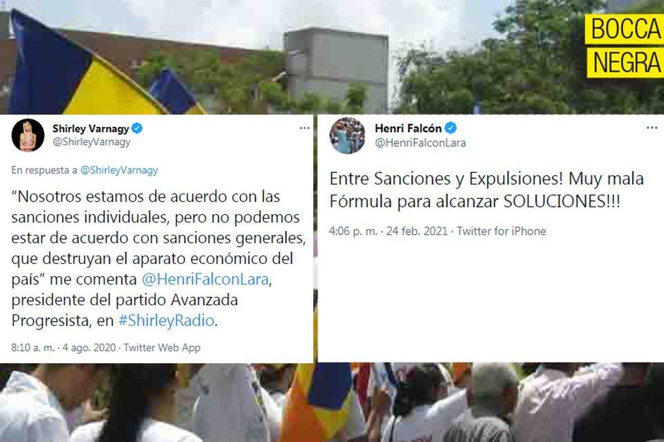 Boccanegra Avanzada Henri Falcón coherencia sanciones