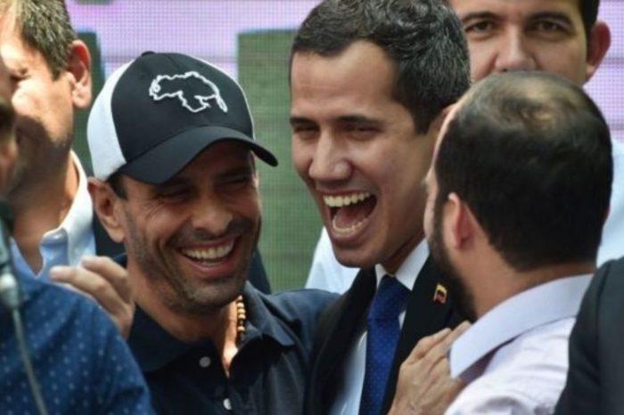 Capriles y Guaidó covid-19