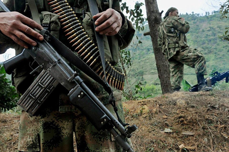 Enfrentamiento FARC Ejército