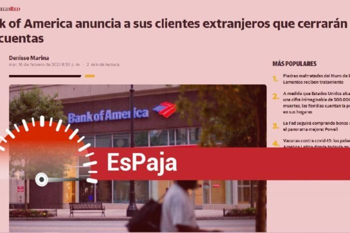 EsPaja Bank Of America