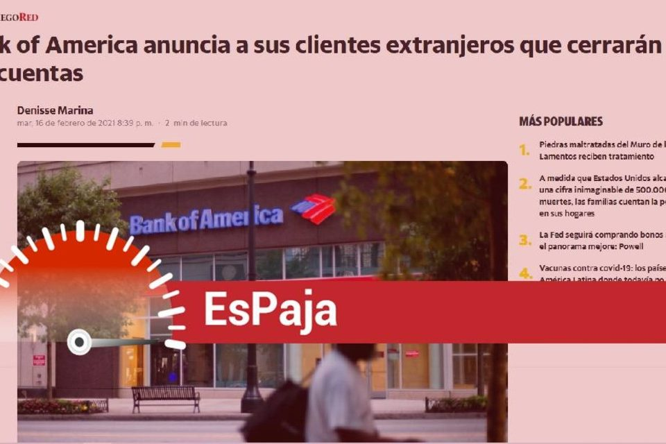 EsPaja Bank Of America