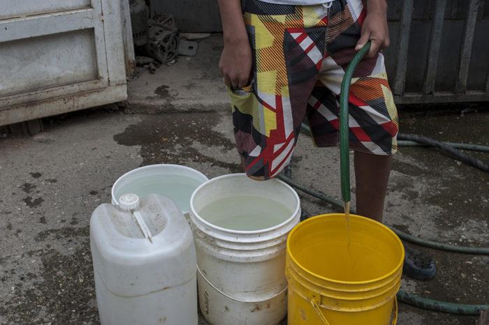 Escasez de agua Caracas