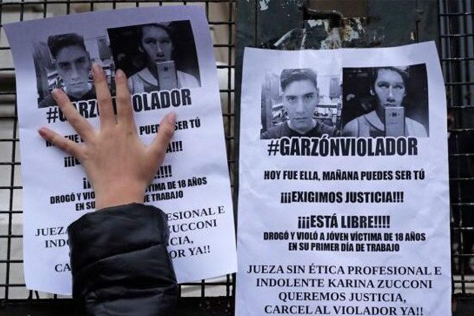 Garzón Martínez violador