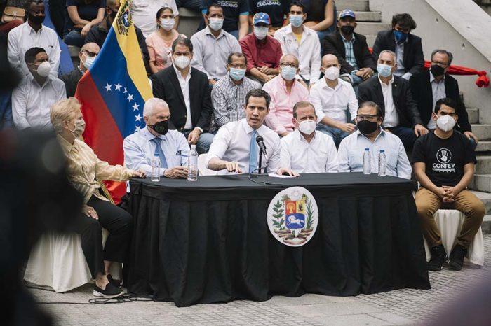 Juan Guaidó Colombia