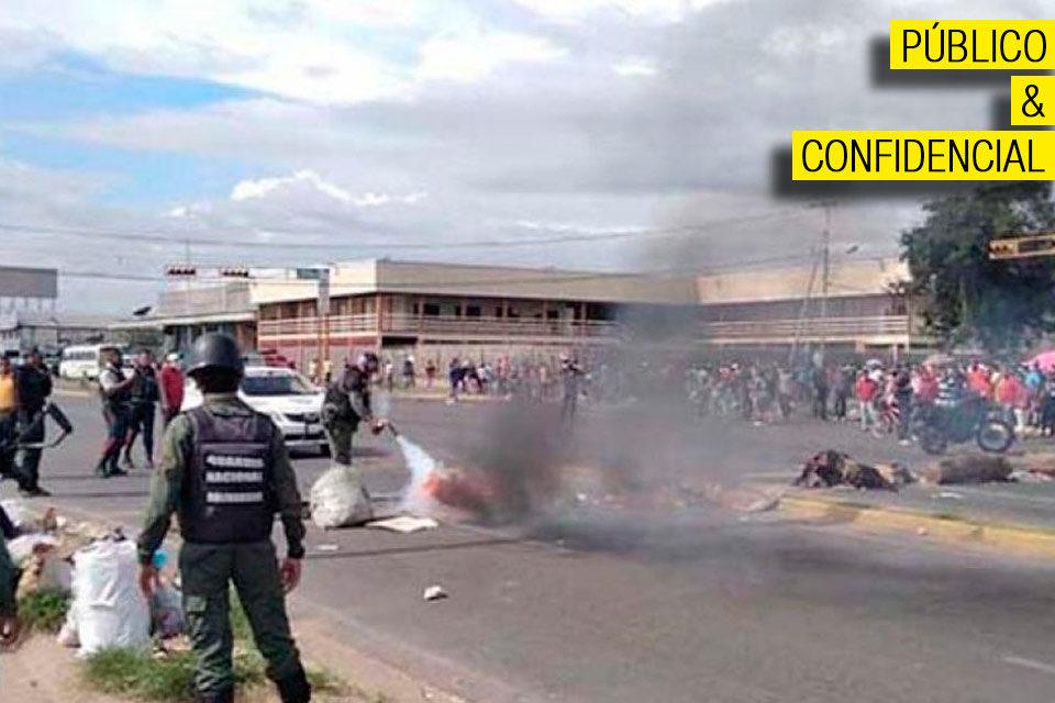 Guayana protesta