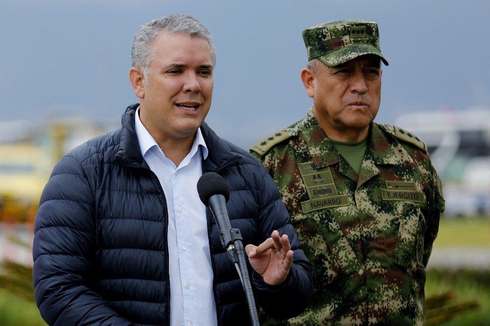 Ivan Duque Colombia ejercito