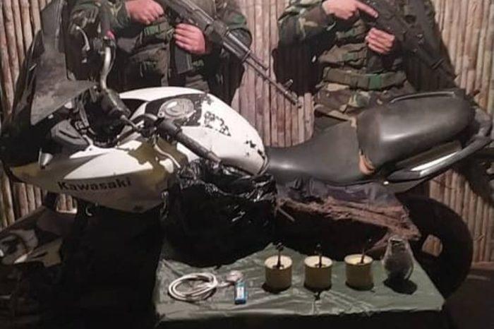 Táchira artefacto explosivo 17.02.2021